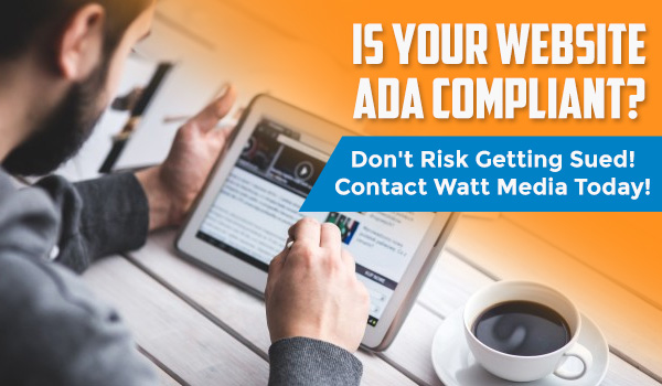 Is your website ADA compliant